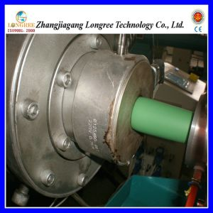 Máquina de fabricación del tubo de PVC doble línea de extrusión de PVC
