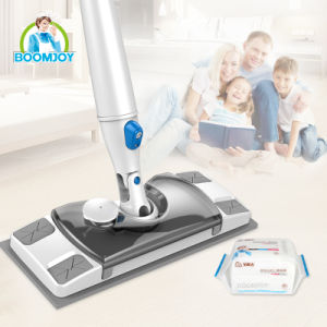 Boomjoy Hot 360 Magic Acesso Fácil de Spray de microfibras Mop