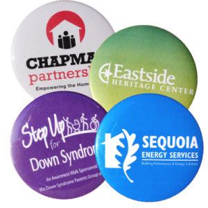 Printing Logo, Cheap Pin Badges를 가진 금속 Pin Badge Button Tinplate Buttons Badges