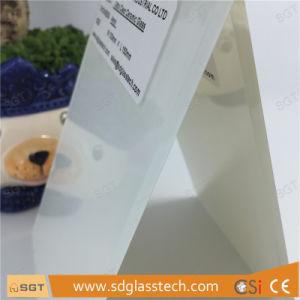 Splashbacksのための3mm-22mmの陶磁器のフリットにされたガラスOptiwhiteによって強くされる