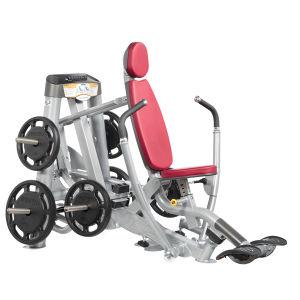 O guindaste exercício declínio equipamentos de ginástica Equipamento de imprensa do tórax