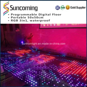 Super Bright LED du panneau de plancher de danse disco