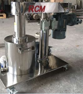 Macchina della smerigliatrice del cestino con il blocco per grafici di sollevamento idraulico