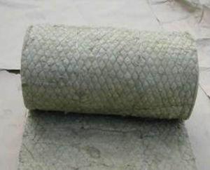 Cobertor térmico de Rockwool da isolação térmica com engranzamento dos Ss