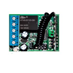 Цифровой переключатель дистанционного управления 1CH передатчик и приемник беспроводного переключателя дистанционного управления
