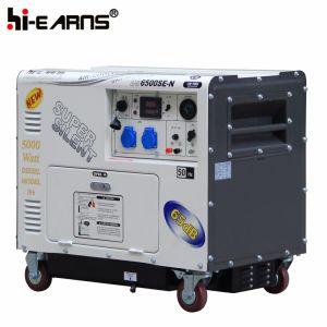 2-5kw de draagbare Kleine Super Stille Diesel Reeks van de Generator (dg6500se-n)
