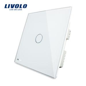 新しいLivolo 1つの一団の贅沢な接触ライト壁スイッチ(VL-C301-62)