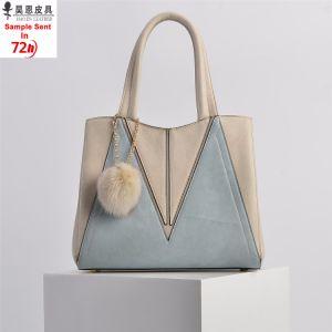 На заводе Гуанчжоу 13 лет ODM/OEM на заказ 2018 новый провод фиолетового цвета кожи модным дизайнером женщин женщины Модная женская дамы дамской сумочке
