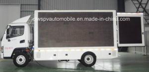 5 T Pantalla LED impermeable vehículo 4*2 camión de la publicidad móvil