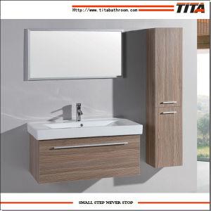 Badkamermeubel hölzerne Badezimmer-Schrank-Eitelkeit mit Badezimmer-Wannen