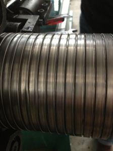 Flexible de bloqueo del conducto metálico con revestimiento de PVC de grado alimentario