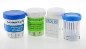 Mop a rencontré le THC Ket Bzo AMP Coc Cot DOA de l'abus des drogues une étape de la cuvette de l'appareil de test rapide