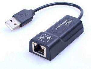 Carte LAN USB 2.0 avec câble, évitez de conduire pour Win XP/7/8/ système d'exploitation Mac