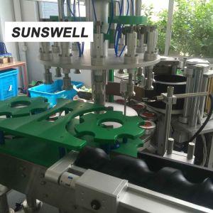 最も売れ行きの良いBOPPの熱い溶解の接着剤のアプリケーターの分類機械