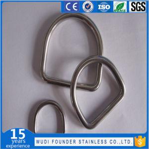 Anello a D saldato sartiame dell'anello a D dell'acciaio inossidabile