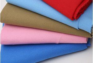 Tissu 100% de franc de coton pour les vêtements de travail/sofa/rideau/uniforme