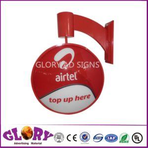 Магазин дисплей оборотного знак светодиодный индикатор для наружной рекламы