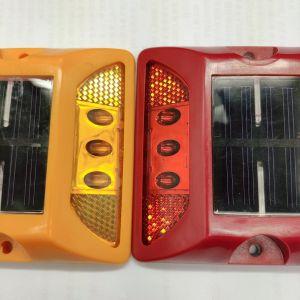 Пластиковый солнечной энергии привели светоотражающие шпилька дорожного движения