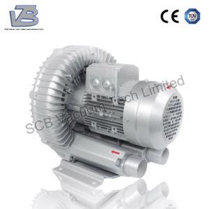 Bomba de aire de canal lateral para el sistema de limpieza del polvo