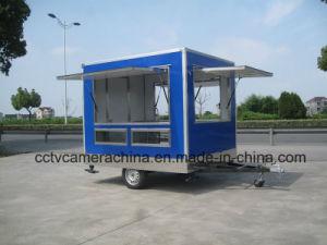 Drei Seitenscheibe-geöffnete im Freien mobile mini Schnellimbiss-Karren (SHJ-MFS250)