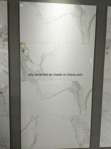 Kijkt het Witte Marmer van het Bouwmateriaal Porselein Verglaasde Tegel