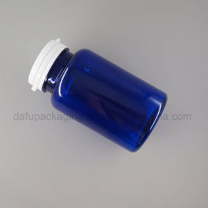 プラスチック包装250mlペットプラスチック帽子が付いているプラスチック薬のびん