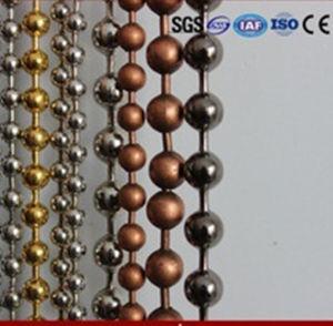 De kleuren Geparelde Gordijnen van de Ketting van de Bal van het Metaal (1.0mm12mm)