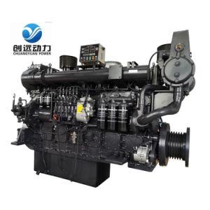 Série Sdec D683 Usado com Caixa de Engrenagens do Motor Diesel Marítimo