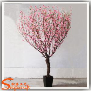 Novo Design de seda e Árvore de Flor de Cerejeira artificial de plástico