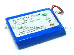 Ultral batería de polímero de litio-ion 3.7V con CE