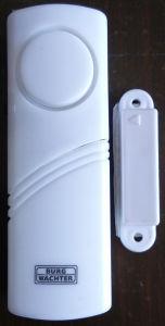 De magnetische Deur/het Venster gaat Alarm met de Batterij van de AMERIKAANSE CLUB VAN AUTOMOBILISTEN in