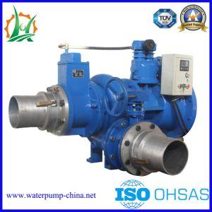 Le carburant diesel ou électrique de la pompe centrifuge à amorçage automatique des eaux usées