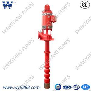 Электрический вертикальный Overhung Line-Shaft пожарного насоса на входе турбины турбокомпрессора