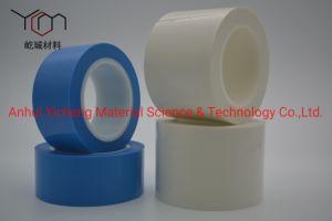 Libre de residuos de adhesivo de color blanco de la cinta de una sola cara