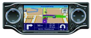 Система единого стандарта DIN In-Dash под действием электропривода и съемная передняя панель управления (CM-883)