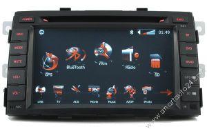 Sistema di navigazione di GPS DVD per KIA Sorento