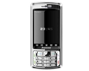 AQuadband Fernsehapparat Doppel-SIM verdoppeln Bereitschaftsohrringe Cer des Handys (Anycool T808) (EAAH2255)