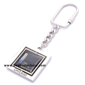 カスタム昇進の記念品のロゴのギフトの金属のキーホルダー(BK11637)