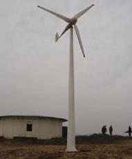 横の軸線の風力3KW