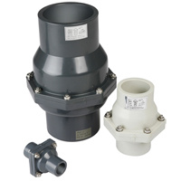 "Full Bore PVC Balançoire Clapet DIN ANSI norme JIS (DN20-DN150 (3/4 ""- 6""))"