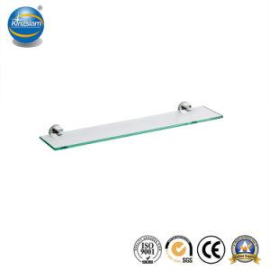 Mensola di vetro all'ingrosso dell'acciaio inossidabile degli accessori della stanza da bagno singola per la stanza da bagno
