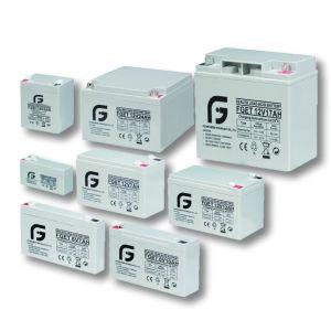 12V 12Ah superventas de pequeño tamaño de la batería de Energía Solar