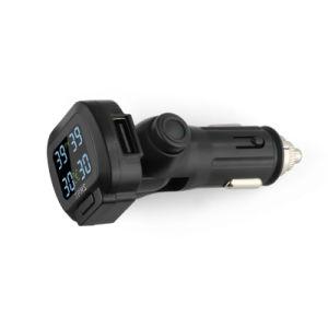 Accenditore TPMS con il USB che si carica, parti girevoli della sigaretta della visualizzazione per il sensore ottimale del video di pressione di gomma di posizione