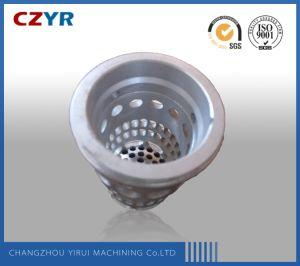 Crépine du filtre à cartouche filtrante, moulage d'aluminium, moulage de basse pression