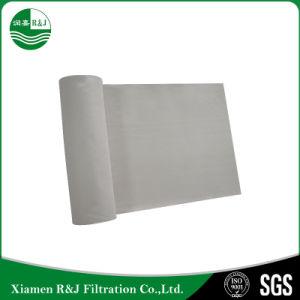 550g PPS Nonwoven perfurado de agulha filtro de feltro macio
