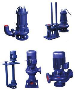 Pompa per acque luride non bloccante verticale di Lw