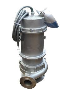 Wqp bomba sumergible de acero inoxidable alcantarillado