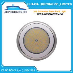IP68 316樹脂によって満たされるLEDの表面によって取付けられるプールライト水中ランプ