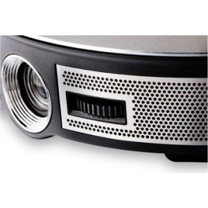 Miniprojektor WiFi LED DLP-videoprojektor kompatibel mit TF-Karte, Airplay für Video/Film/Spiel/Heimkino (Projektor 3D)