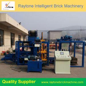 O Qt4-18 Pavimentadora de Concreto Hidráulico Totalmente Automática Brick máquina para fazer blocos ocos